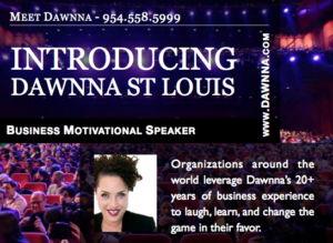 Meeting Planners Speaker Kit for Dawnna.